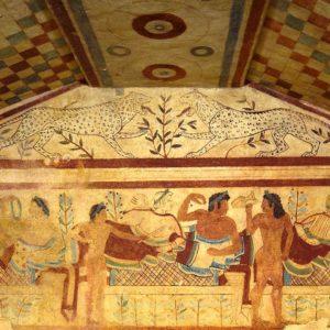 Necropoli Etrusca Tarquinia - Foto ©NecropoliTarquinia
