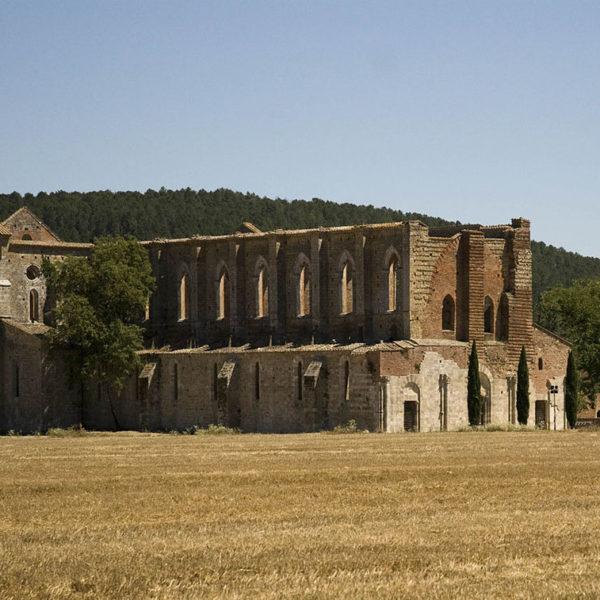 Abbazia di San Galgano - Foto di Vignaccia76, licenza CC-BY-SA-3.0 da Wikimedia Commons