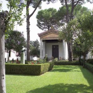 Villa Giulia, Ricostruzione Tempio di Alatri