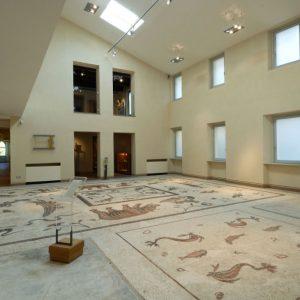 Pavimento romano. Mosaico, I sec. d.C. - Foto di Marcello Fedeli