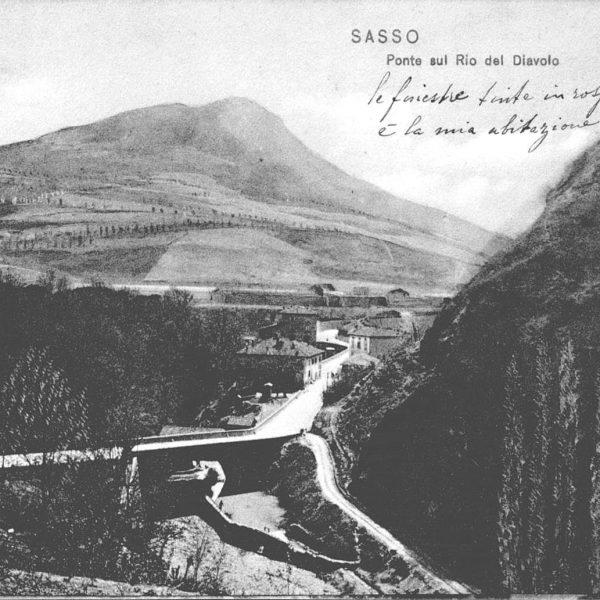Rupe di Sasso Marconi - cartolina d'epoca